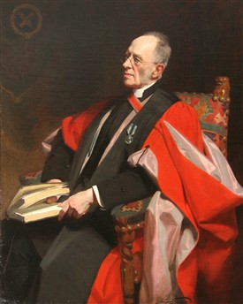 Portrait of Walter Lawrance by Frank Salisbury. | Reproduced courtesy of the Cathedral and Abbey Church of St Alban