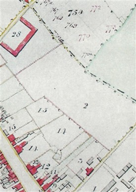 St Peter's Parish Map, 1826 | Herts Archives & Local Studies (DP93 29/9)