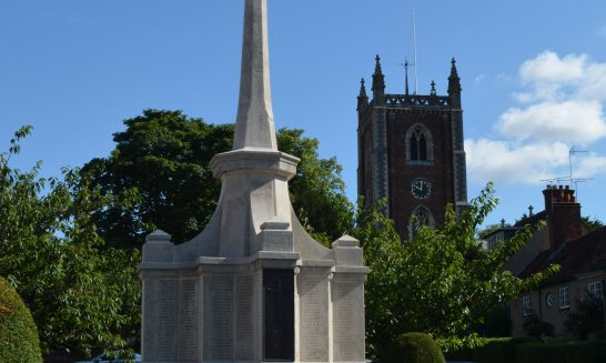 The Forty First World War Memorials in St Albans
