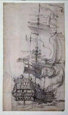 HMS Maudant 1684-5 | © National Maritime Museum