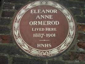 The plaque at Torrington House, Holywell Hill | Sue Mann