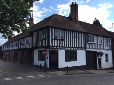 No. 37 Holywell Hill is a former inn.  | Peter Bourton