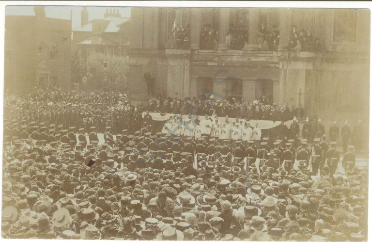 Event at Town Hall, c.1910 | Jon Mein