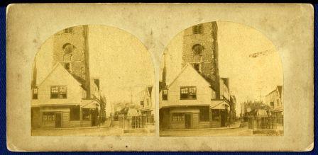 Market Place, St Albans, c1855 | SAHAAS