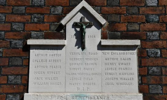What's in a name? The street memorials of the Abbey parish, St Albans