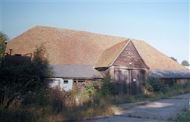 Kingsbury Barn from the south | David Harding