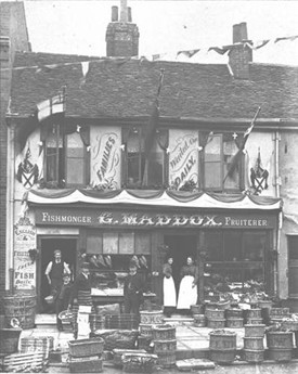 G Maddox's shop, 1896 |  St Albans Museums (ref SB62)