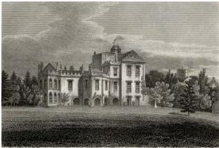 Holywell House 1808, Edward Wedlake Brayley - 1808 edition: