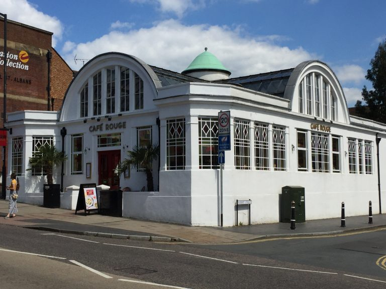Cafe Rouge, formerly the Samuel Ryder Seed Hall Exhibition building | Peter Bourton