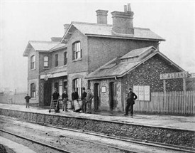 London Road station, 1867 | St Albans Museums (ref PH004483_3)