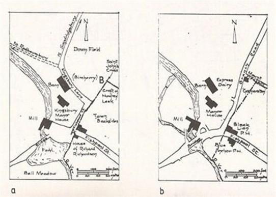 Map of Kingsbury Manor | Eileen Roberts