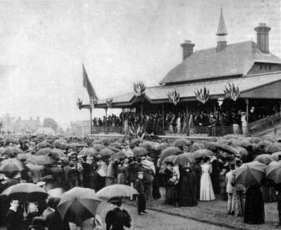 Opening of the Grandstand, Clarence Park, 1894 | St Albans Museum (ref T865)