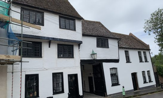 The Society's campaigning to preserve buildings in St Albans