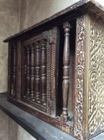 The Dole Cupboards – three in all – once held bread for the poor and date from 1628.  | SAHAAS