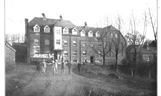New Barnes Mill in the First World War