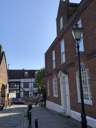 Abbey Rectory, Sumpter's Yard