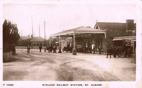 All change at St Albans station
