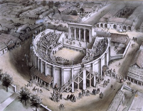 The man who found Verulamium's theatre: Richard Grove Lowe 1801–1872