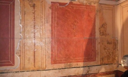 Dr Norman Davey: rescuing Roman plaster decorations