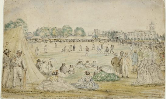 Bizarre but true 19th century cricket match