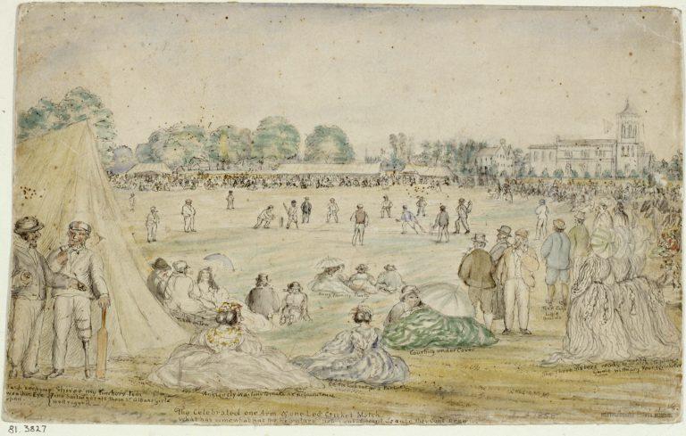 Christ Church cricket match | J. H. Buckingham (St Albans Museums)