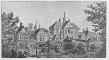 Fig. 1: Drawing produced to mark the opening of the Sisters Hospital in St Albans, 1893 | Illustrated Sporting News (1 July 1893)