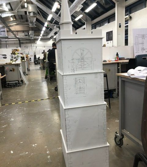 The Clocktower model takes shape  | Beth Jones