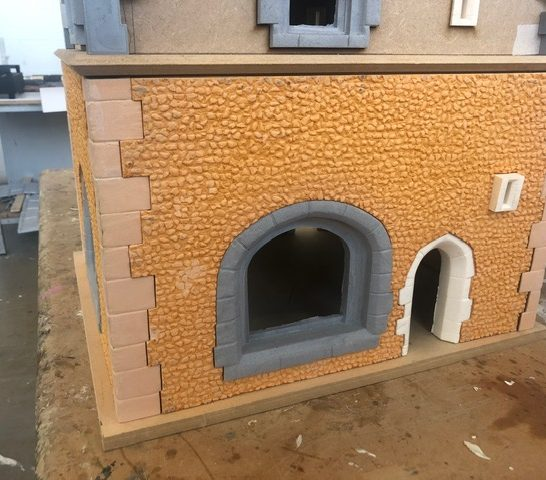 Detail of first floor cladding | Beth Jones