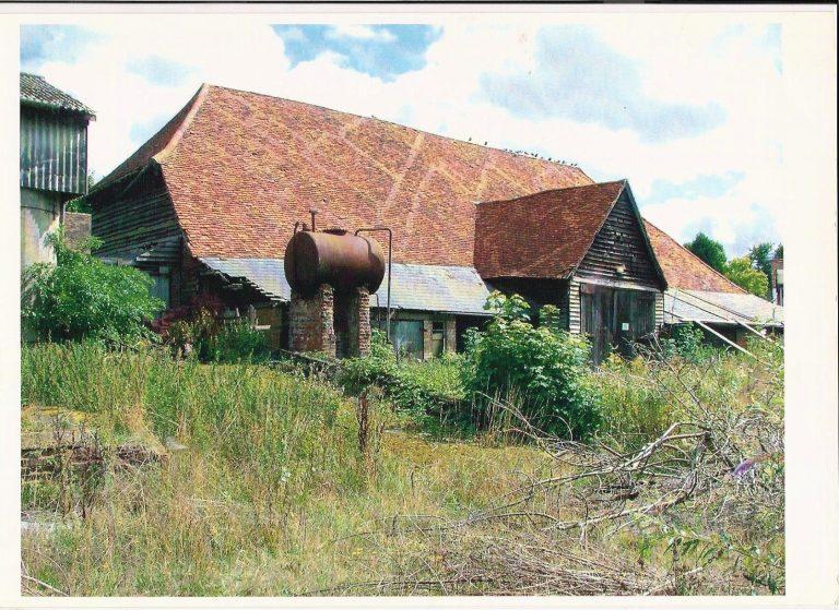 Kingsbury Barn before restoration | Adam and Jill Singer