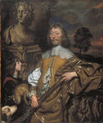 'Endymion Porter' by Dobson, c.1645. Porter was a diplomat and royalist.  | (Licensed under Creative Commons Attribution - Non-commercial Licence CCBY-NC-ND 3.0 (Unported). Photo © Tate)