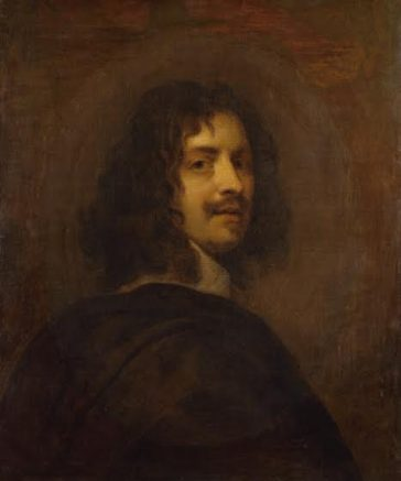 William Dobson, after a self-portrait by Dobson, oil on canvas, c.1646, based on a work of 1642—1646, NPG 302 | (© National Portrait Gallery, London)