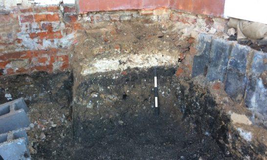 Excavation at 8-10 High Street, Wheathampstead