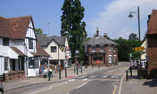 Hertfordshire place names